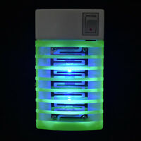 LED Socket Electric Mosquito Pest Fly Bug Insect Trap Killer Night Lamp Zapper