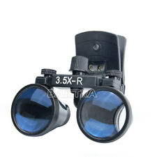 Clip Type 3.5X Dental Binocular Medical Surgical Glasses Loupes Magnifier IT