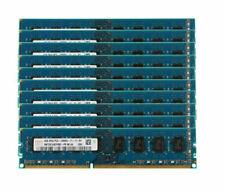 New listing 10pcs for Hynix 4Gb 2Rx8 Pc3-12800U Ddr3 1600Mhz Dimm Desktop Memory Ram @Ry