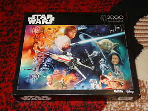 Puzzle Star Wars NEW Buffalo Games Force Is Strong With This One Sealed 2063