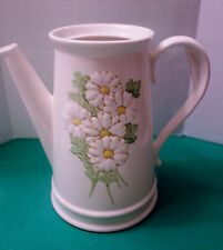 Metlox Poppy Trail Sculptured Daisy COFFEE POT   Good Used Condition 1964-1983