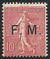 Timbres de service français