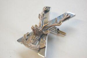 Highland regiment Officers cap badge