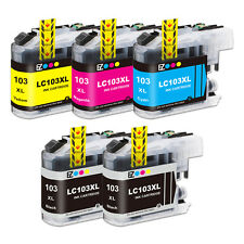5PK LC101 LC103 XL Ink Cartridge Set For Brother MFC-J870DW MFC-J875DW