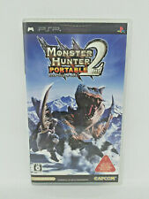 Sony PLAYSTATION Psp Portable - Monster Hunter Portable 2nd - Capcom Japan See