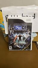 STAR WARS THE FORCE UNLEASHED NINTENDO WII VIDEO GAME >>>>>>IN BOX NO MANUAL