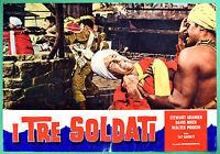 T29 Fotobusta I Drei Soldaten David Niven Stewart Granger / Walter Pidgeon