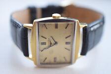 LONGINES HAU Gold GG/WG 750 50er/60er Jahre Handaufzug rechteckig