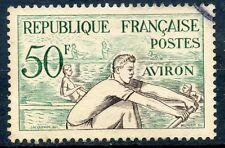 STAMP / TIMBRE FRANCE OBLITERE  N° 964 SPORT JEUX OLYMPIQUES HELSINKI AVIRON