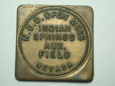 Indian Springs, Nevada N.C.O. Open Mess Air Force Military $1 Token