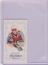 2013 ALLEN & GINTER JULIA MANCUSO OLYMPIC ALPINE SKIING MINI CARD #15  MULTIPLES