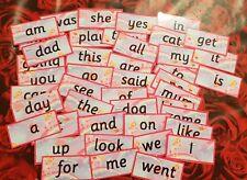 UNICORN RECEPTION WORDS -  FLASH CARDS  - HOME/CLASS -READ/WRITE/SPELL- SCHOOL