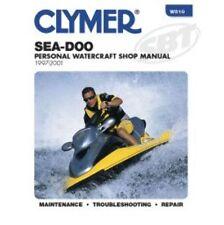 Sea-Doo Clymers Water Vehicles Repair Manual 787RFI, 951/DI 1997-01 PWC W810 SBT