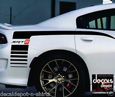 Fits Any DODGE CHARGER SRT, SRT8 Quarter Panel Vinyl Decal Stripes