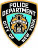 NYPD NEW YORK POLICE DEPARTMENT DECAL STICKER 3M USA TRUCK HELMET VEHICLE WINDOW