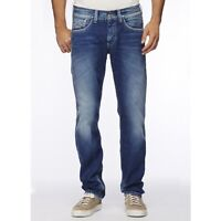 Pepe Jeans Crunch Regular Fit, Low Waist, Straight Leg Jeans [31W / 34L]