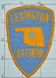 OKLAHOMA, LEXINGTON POLICE DEPT VINTAGE PATCH