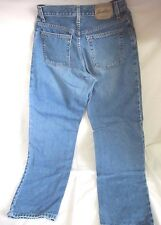 """WOMANS LEVI STRAUSS SIGNATURE RELAXED FIT JEANS MISSES 10 MEDIUM - 30"""" INSEAM"""