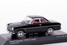 Ford Taunus 12M Coupe 1962 schwarz Minichamps 1:43 NEU/OVP