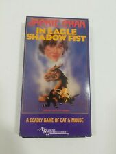Jackie Chan IN Eagle Shadow Fist Uncut VHS Tape Complete VCR Rare Movie 1985
