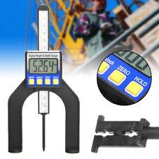 Useful LCD Digital Height Depth Gauge Slide Caliper Vernier Ruler Measuring Tool
