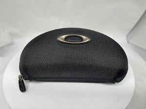 Oakley M2 Frame Soft Vault Sunglasses Case Black Clamshell Hard Zippered