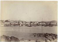 Cannes Francia Vintage Albumina Ca 1890