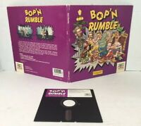 Vintage Bop 'N Rumble by Mindscape (1987) Commodore 64/128