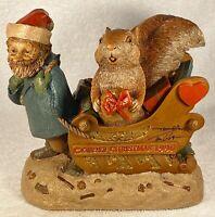 CAIRN CHRISTMAS '96-R~Tm Clark Gnome~Cairn #6326~Ed 95~Hand Signed~w/COA & Story