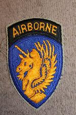Original Cold War Era U.S. Army 13th Airborne DIvision Uniform Patch