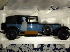 New ListingFranklin Mint 1929 Rolls Royce Phantom I Cabriolet Deville 1:24 Diecast Car