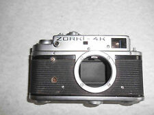 Russian rangefinder camera ZORKI 4K BODY ONLY. KMZ russian camera