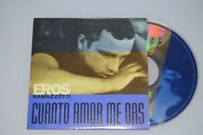 Eros Ramazzotti ‎– Cuanto Amor Me Das. CD-SINGLE PROMO
