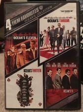 Oceans Collection: 4 Film Favorites (DVD, 2009, 2-Disc Set, WS)