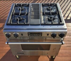 Stainless Steel Jenn-Air Dual Fuel Downdraft Range / Oven / Stove FREE SHIPPING