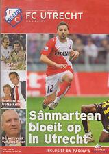 Programme / Magazine FC Utrecht Nummer 2 November 2007 seizoen 2007/2008