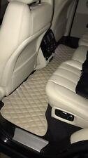 Luxury Bespoke Leather Carmats Fully Tailored fit Range Rover Vogue 2013-2018