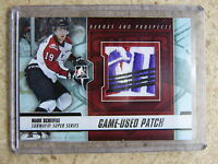 12-13 ITG H&P Heroes Prospects Game-Used Patch MARK SCHEIFELE Silver Version /10