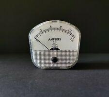 Vintage Weston Crown Series Meter Dc 25 Model 1721 Amm Usa 15 Amps