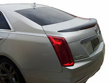 CADILLAC CTS FLUSH MOUNT FACTORY STYLE UNPAINTED REAR WING SPOILER 2014-2018