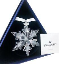 New Swarovski Snowflake Crystal Annual Edition Ornament 2020 Display 5511041