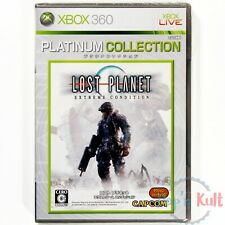 Jeu Lost Planet Extreme Condition Platinum Collection JAP Xbox 360 NEUF Blister