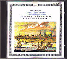 Christopher Hogwood: Telemann Double & Triple concerto L 'OISEAU-LYRE CD AAM