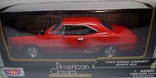 1:24 1969 Dodge Coronet Super Bee Motormax Diecast Car
