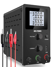 Nice Power Adjustable Dc Power Supply 0 30v 0 10a Variable Switching