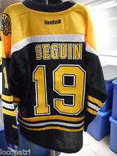 Reebok NHL Boston Bruins Tyler Seguin Youth Replica Jersey NWT L/XL