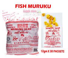 Snack Food Fish Muruku Original Recipe Seasoned Herbs and Spices 30 Packs x 12g