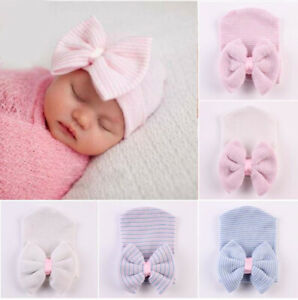 Newborn Baby Beanie 0-6 Months Baby Hats 100% Cotton Hats Hospital Hat