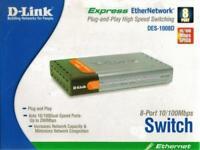 D-Link DES 1008D - switch - 8 ports