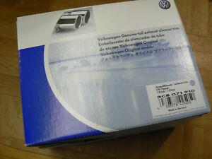 Original VW Exhaust End Pipe Blinds Chrome Sport Tuning Passat Tiguan 3C8071910